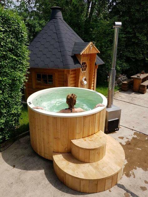 Learn how to build this DIY Hot Tub | Diy hot tub, Hot tub