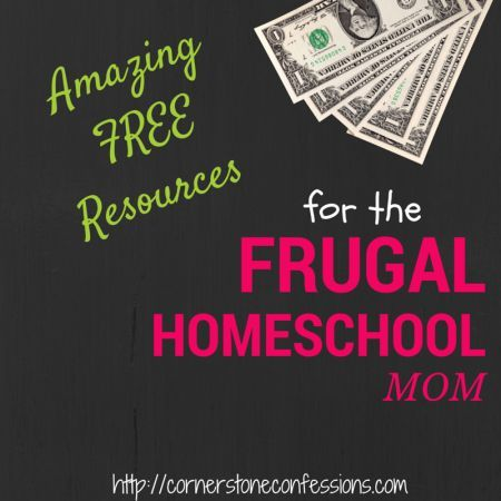 Amazing FREE Resources for the Frugal Homeschool Mom