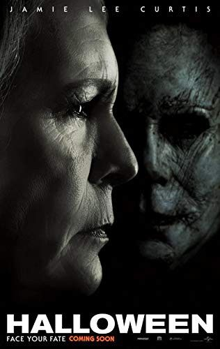 Halloween Movie Poster 2 Sided Original Intl Version B 2018 27x40