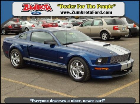 Cars For Sale Used 2008 Ford Mustang In Gt Coupe Zumbrota Mn
