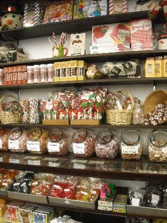 Fill your stockings and candy dishes with old-timey selections at Mast Store's Old Boone Mercantile, 630 W. King St. | Downtown Boone, NC. http://www.mastgeneralstore.com