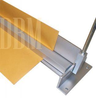 36 Brake Bender With Stand Sheet Metal Bending Plate Bender 12 Gauge In 2020 Metal Bender Sheet Metal Bender Metal Bending