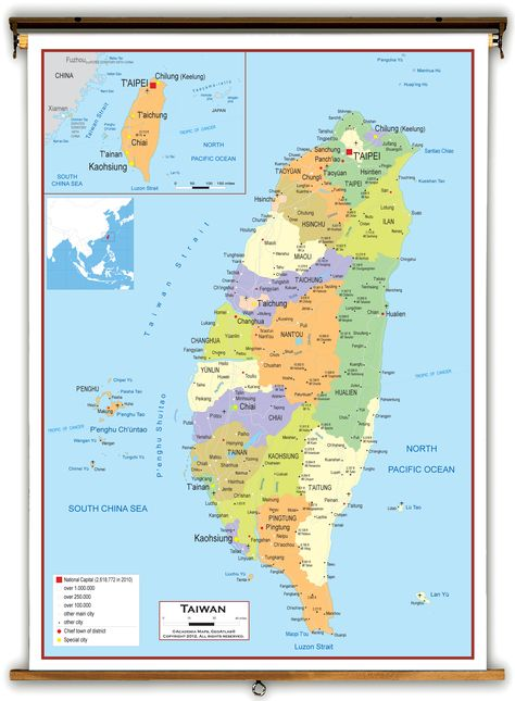 Taiwan Map   Geography of Taiwan   Map of Taiwan - Worldatlas - new taiwan world map images
