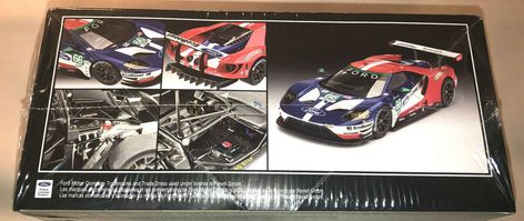 Revell Ford Gt Le Mans 2017 1 24 Scale Plastic Model Kit New 4418