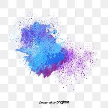 Blue Paint Splash Png And Vector Paint Splash Painting Blue Paint
