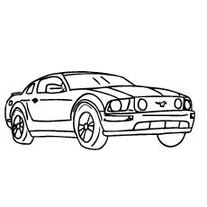 Mustang Coloring Pages Mustangs Pinterest Embroidery