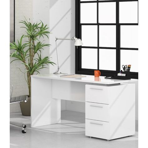 Dehon Desk Metro Lane White Computer Desk Computer Table Design