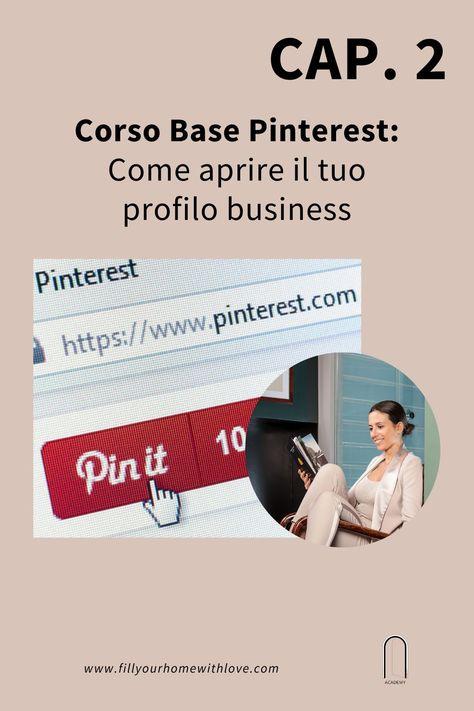 Corso di Pinterest Base