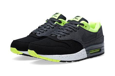331e4cc2606 Nike Air Max 1 PRM Black Anthracite-Volt