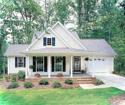Nice 37 Beautiful Small Cottage House Plan Designs Ideas Http Gurudecor Com 2019 0 Small Cottage House Plans Cottage House Exterior Country Style House Plans