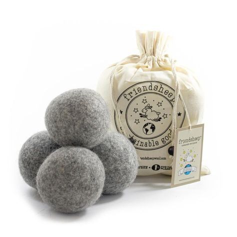 Friendsheep Dryer Balls - Gray