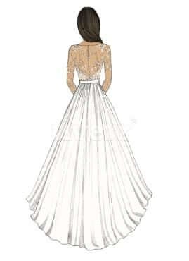 Aabira I Will Design A Beautiful Dress Pencil Sketch For 5 On Fiverr Com Beautiful Dresses Pencil Sketch Dress Sketches