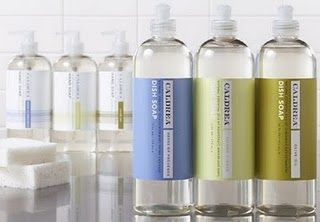 Caldrea For Target Dish Soap Hand Soap Countertop Spray Kitchen Soap Packaging Eco Friendly House Bottle Packaging