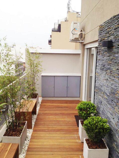 Balcon Terraza Moderno Balcones Y Terrazas Modernos Ideas