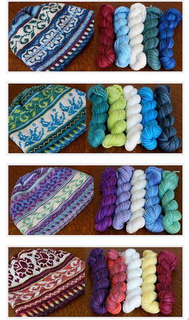The Four Seasons Hat pattern