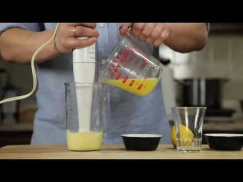 The Food Lab: How To Make 1-Minute Hollandaise - YouTube