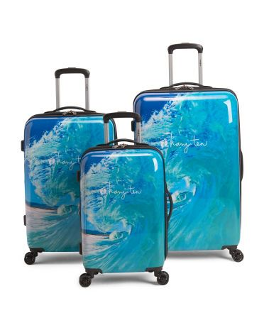 ad81ba614434 Print Curl Collection | Hang Ten Travel | Suitcase, Travel luggage ...
