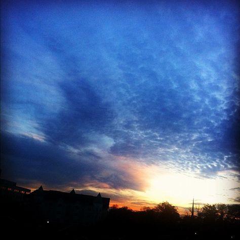 Election day sunrise.