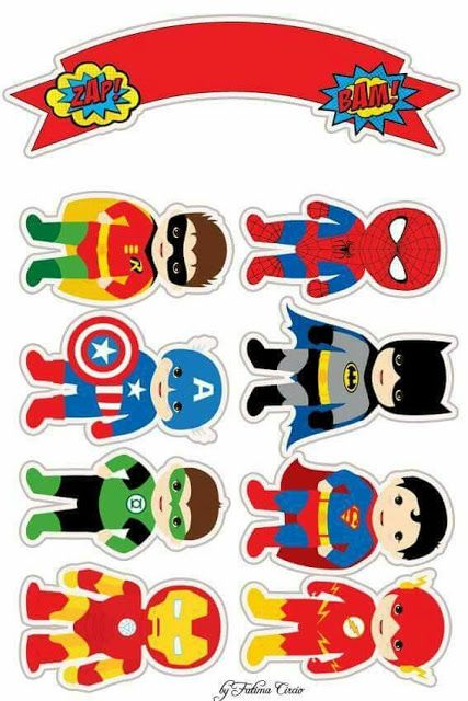 - Oh My Fiesta! for GeeksYou can find Superhero cake and more on our website.Superhero Babies F. Baby Avengers, Avengers Birthday, Superhero Birthday Party, Boy Birthday, Super Hero Birthday, Superhero Birthday Invitations, Superman Party, Superhero Cake Toppers, Birthday Cake Toppers