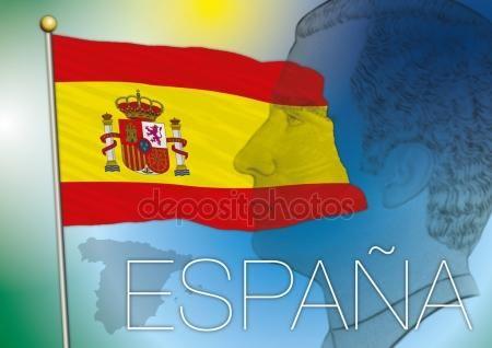 Bandera De España Vectores De Stock Sin Royalties Gratis Acuarela De Fruta Vector Banderas