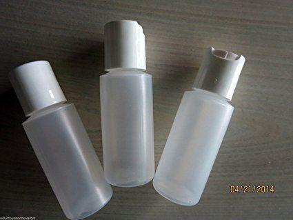 12 X 1 Oz Plastic Bottles Food Grade White Caps Review Plastic Bottles White Caps Bottle