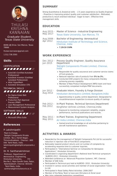 Sasi (great2excellent) on Pinterest - resume quality assurance