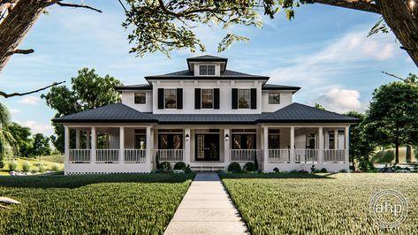 Greensboro Southern Plantation House Plan