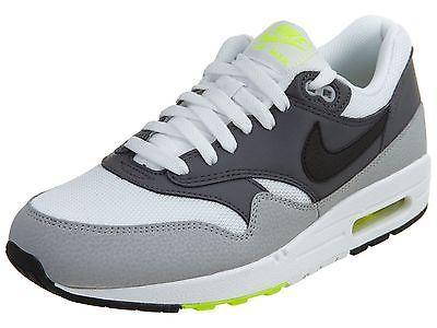 Nike Air Max 1 Essential Mens 537383 128 Grey Black Volt