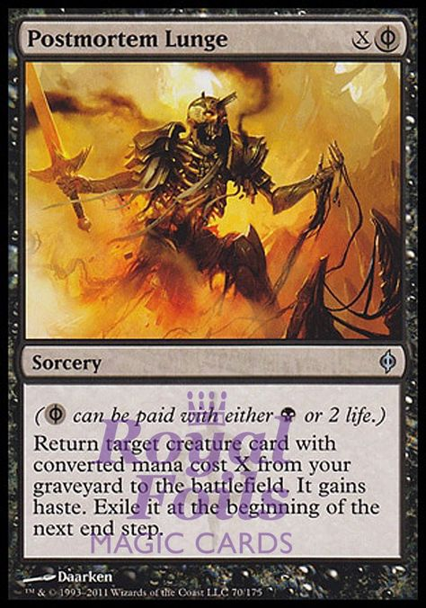 Zombie Assassin FOIL Odyssey NM-M Black Common MAGIC THE GATHERING CARD ABUGames