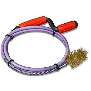 Nirox Rohrreinigungsspirale Mit Fester Draht Burste 8mm X 14m Rohrspirale Mit Gummimantel Ideal Fur Abfluss Siphon Baumarkt Rohre Rohrreinigung Reinigen