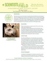The Tapir Scientist Discussion & Activity Guide with Common Core Connections (Grades 5-8) https://www.teachervision.com/nonfiction/printable/74992.html #animals #biology #nonfiction