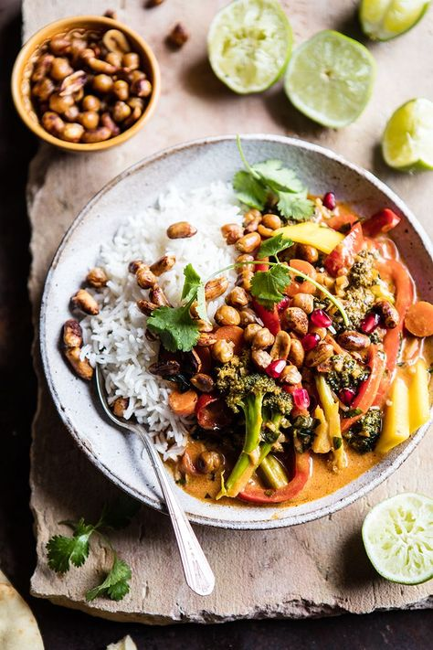 Are you looking for a healthy Thai curry recipe with a twist? In this video, Half Baked Harvest shows us how. You'll be surprised how easy it is too.