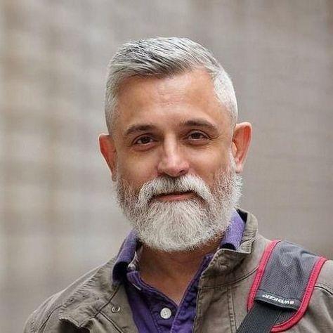 42 Frisuren Fur Manner Mit Silbernen Und Grauen Haaren Men