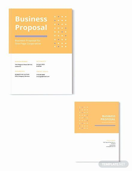 One Page Proposal Template Doc Best Of Free Sponsorship Proposal Template Download 116 In 2020 Proposal Templates Business Proposal Template Daily Planner Template