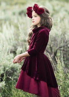 d202e68e1d NEW  Nina Velvet Dress