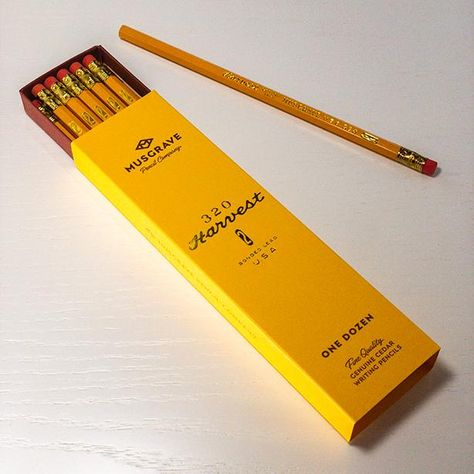 Are you a Pro? Instantly become more competent, skillful, and assured of your awesomeness while wielding a Professional Pencil! Adorning your desk with a bouquet of these California incense cedar pencils is equivalent to popping your collar. Built with over 100 years of confidence, these American-made writing pencils are all that stands between you and your next major conquest. Get dressed to the #2s! Grab your golden-accented Musgrave Yellow-Harvest-Moon hexagonal suit and write your own future