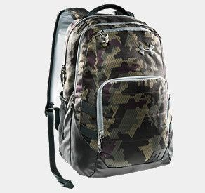 under armor camo backpack