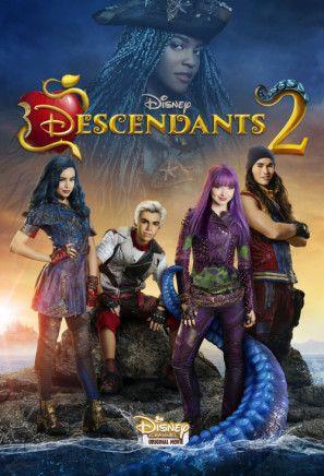 Descendants 2 Poster Id 1479904 Personajes De Descendientes Peliculas De Disney Película Disney Channel