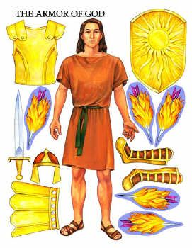 Armor of God Lesson very nice printable; also printable bookmarks, but bookmarks say LDS at the bottom...