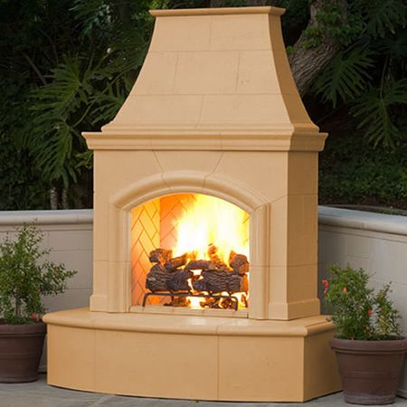 American Fyre Designs Phoenix Ventless Outdoor Fireplace