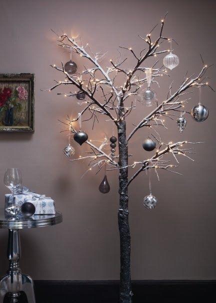 Contemporary Christmas Trees Uk.John Lewis Pre Lit Christmas Twig Tree 6ft On Gumtree Pre