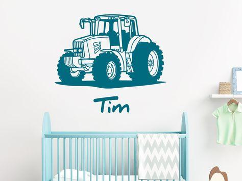 List Of Pinterest Wandtattoo Kinderzimmer Junge Traktor Pictures