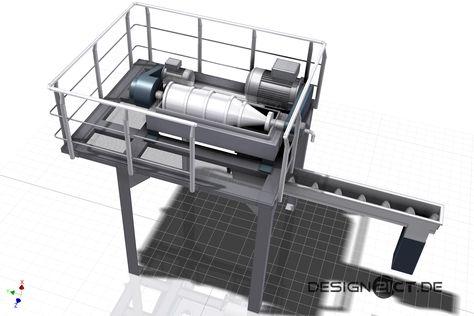 Für den ZuckerproduzentenPfeifer & Langen wurde im Werk Elsdorf eine Stahlbühne für eine zusätzliche Zentrifuge im Autodesk Inventor erstellt. Die beengten Bedingungen im Bereich des gewünscht…