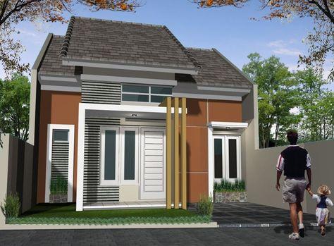 dekorasi dan desain rumah minimalis type 45, bentuk rumah