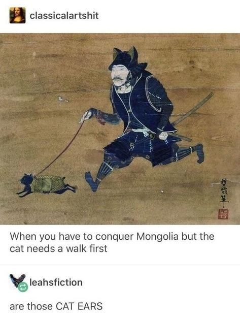 These 27 Lazy Cat Memes Are All You Need This Caturday - World's largest collection of cat memes and other animals Memes Humor, Cat Memes, Funny Memes, Cartoon Memes, Medieval Memes, Renaissance Memes, Art History Memes, Funny History, Tumblr History