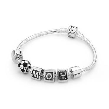 Pandora Soccer Mom Bracelet - Item PANB-6-SMB | REEDS Jewelers