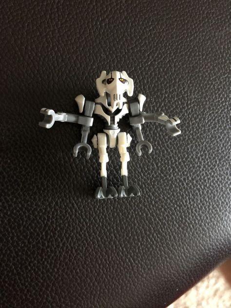 NEW LEGO STAR WARS GENERAL GRIEVOUS Minifig 75040 75199 minifigure figure clone
