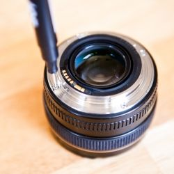 How to Repair a Busted Camera Lens
