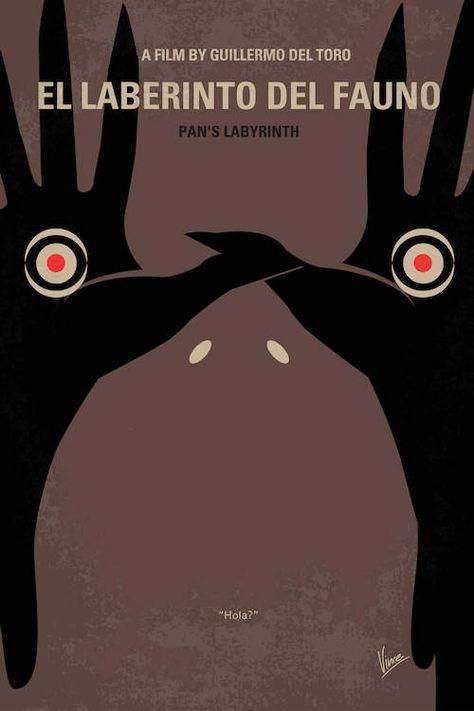 Pan's Labyrinth Minimal Movie Poster Art Print by Chungkong