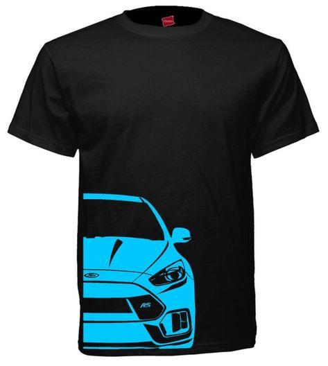 Ford Focus Rs Tee Shirt Projecten Om Te Proberen